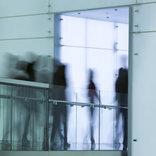people in high corridor