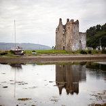 castle by boat